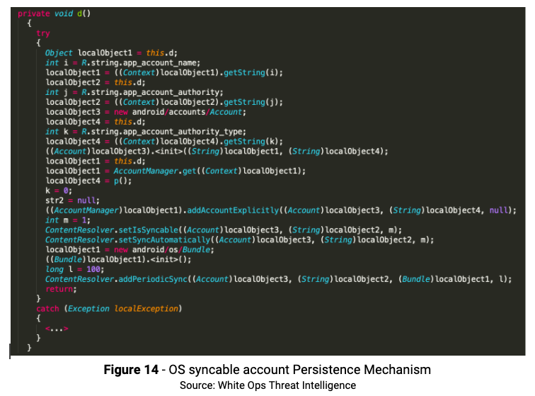 Figure 14 OS sync Persistence