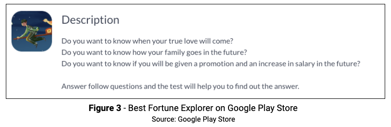 Figure 3 Best Fortune Google Play